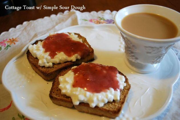 Simple Sour Dough, Plate