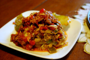 Stuffed Cabbage Cake ( Low Carb, Gluten Free)