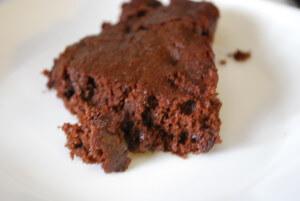 Mocha Almond Skillet Brownie Piece