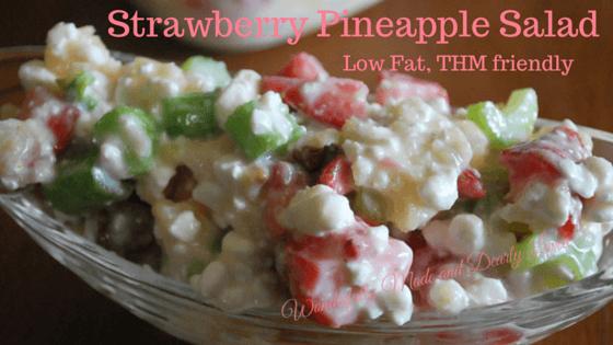 Low Fat Strawberry Pinapple Salad ( THM E))