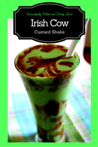 Irish Cow (Low Carb, THM S) this chocolate mint custard shake fit perfectly in your trim and healthy lifestyle.