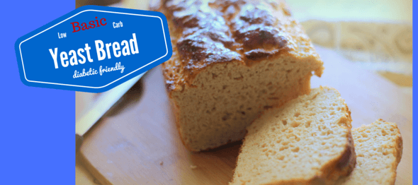 Low Carb Yeast Bread (Diabetic Friendly, THM S)