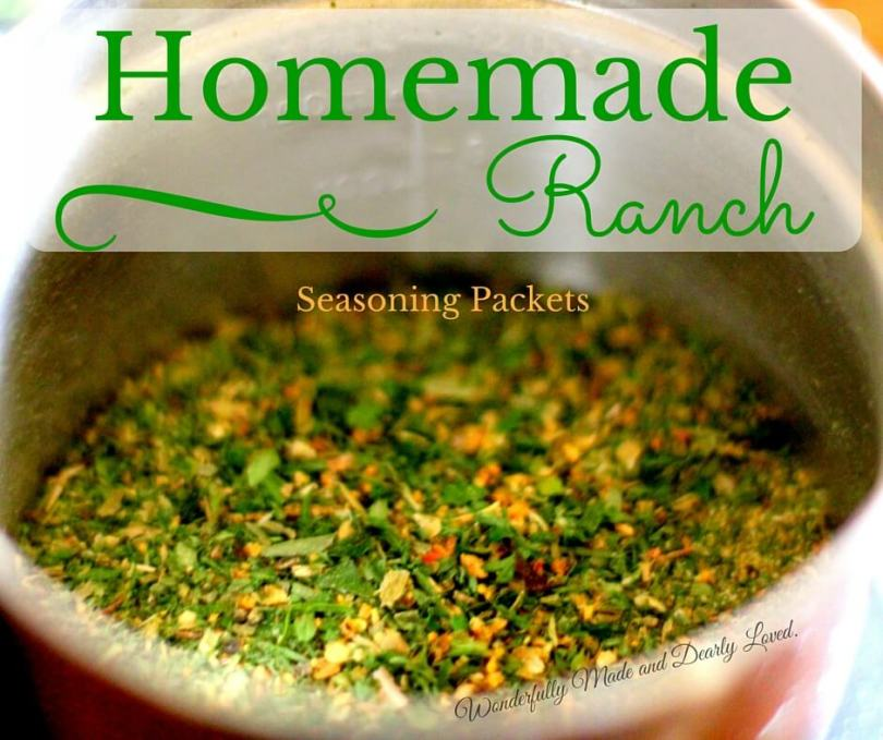 Homemade Ranch Seasoning Packets (THM NSI, Low Carb, Low Fat)
