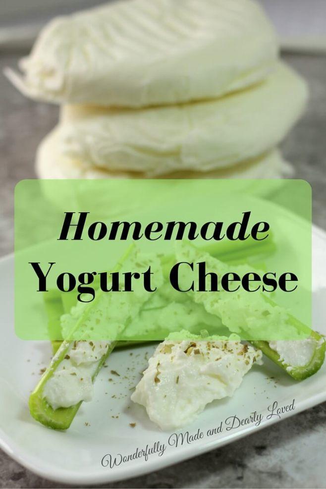 Homemade Yogurt Cheese (THM Friendly)
