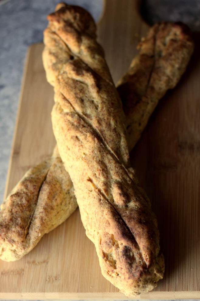 French Baguette Bread (THM S, Low Carb, Gluten Free)