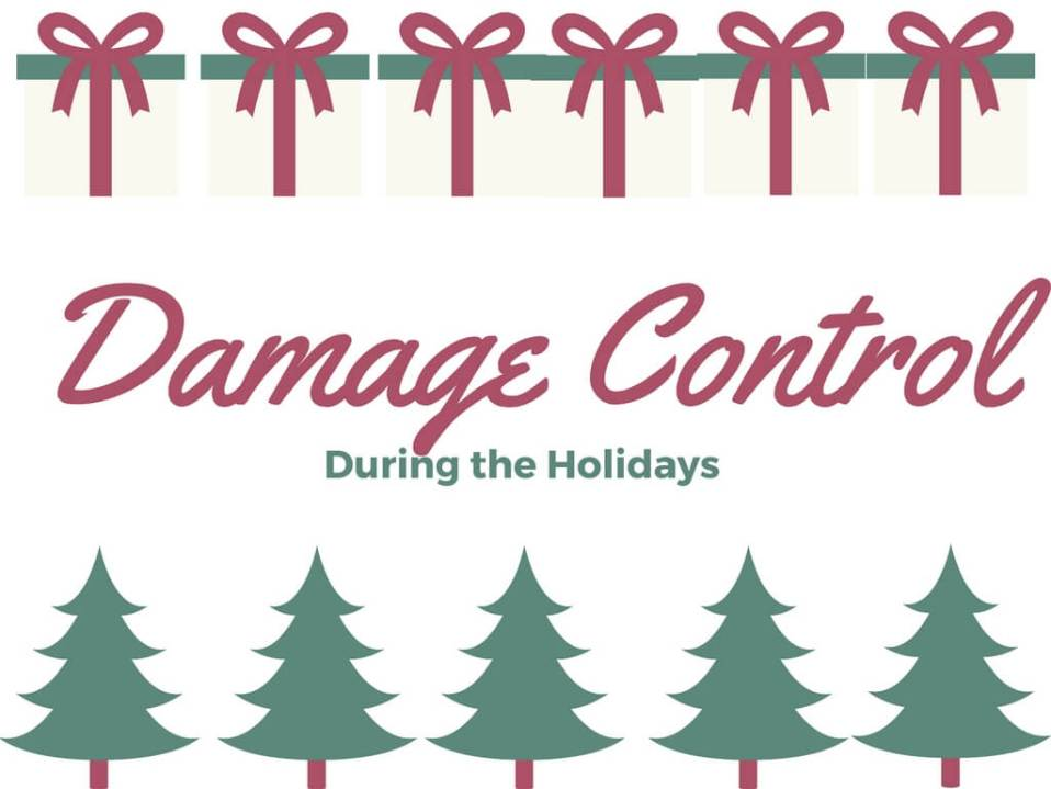 Damage Control During Holidays and Getting Back on Plan with THM