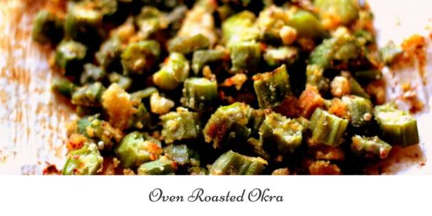 Oven Roasted Okra is a great side dish and snack while following a trim and healthy lifestyle.
