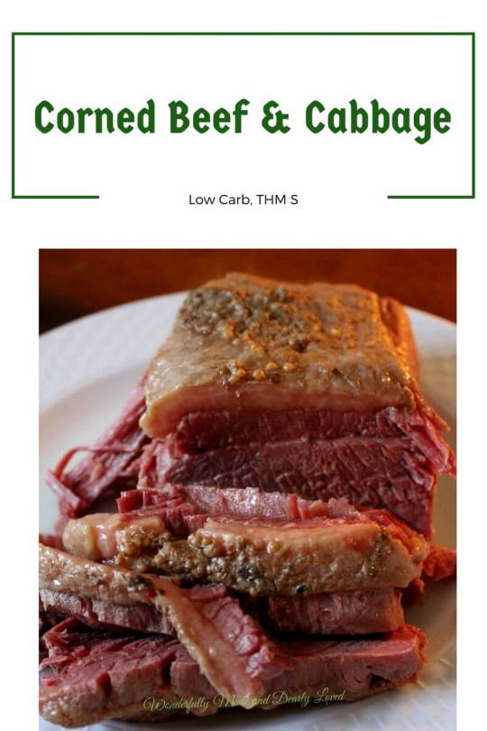Classic Corned Beef & Cabbage (THM S, Low Carb)