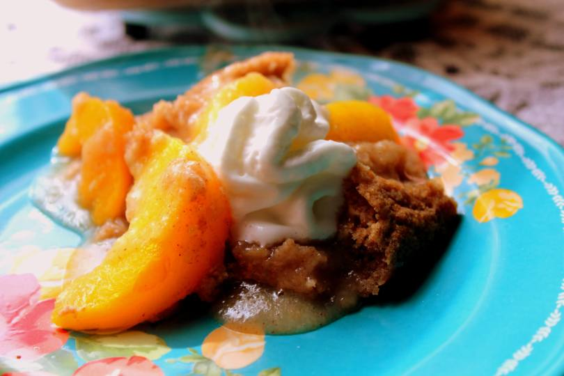 Tennessee Peach Pudding )THM E, Low Fat)