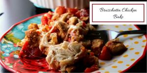 Low Carb Bruschetta Chicken Bake (THM S)