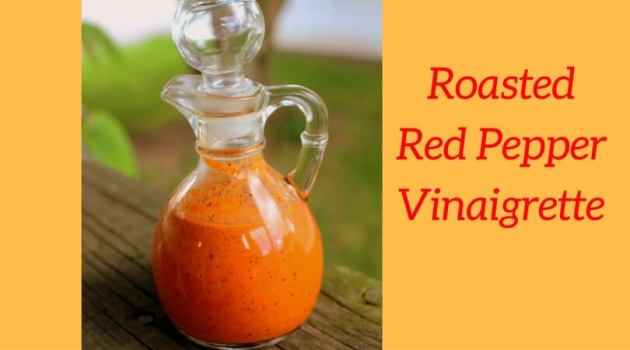Roasted Red Pepper Vinaigrette (THM, Low Carb)