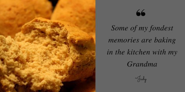 Fong memories of making yeast rolls with my Grandma