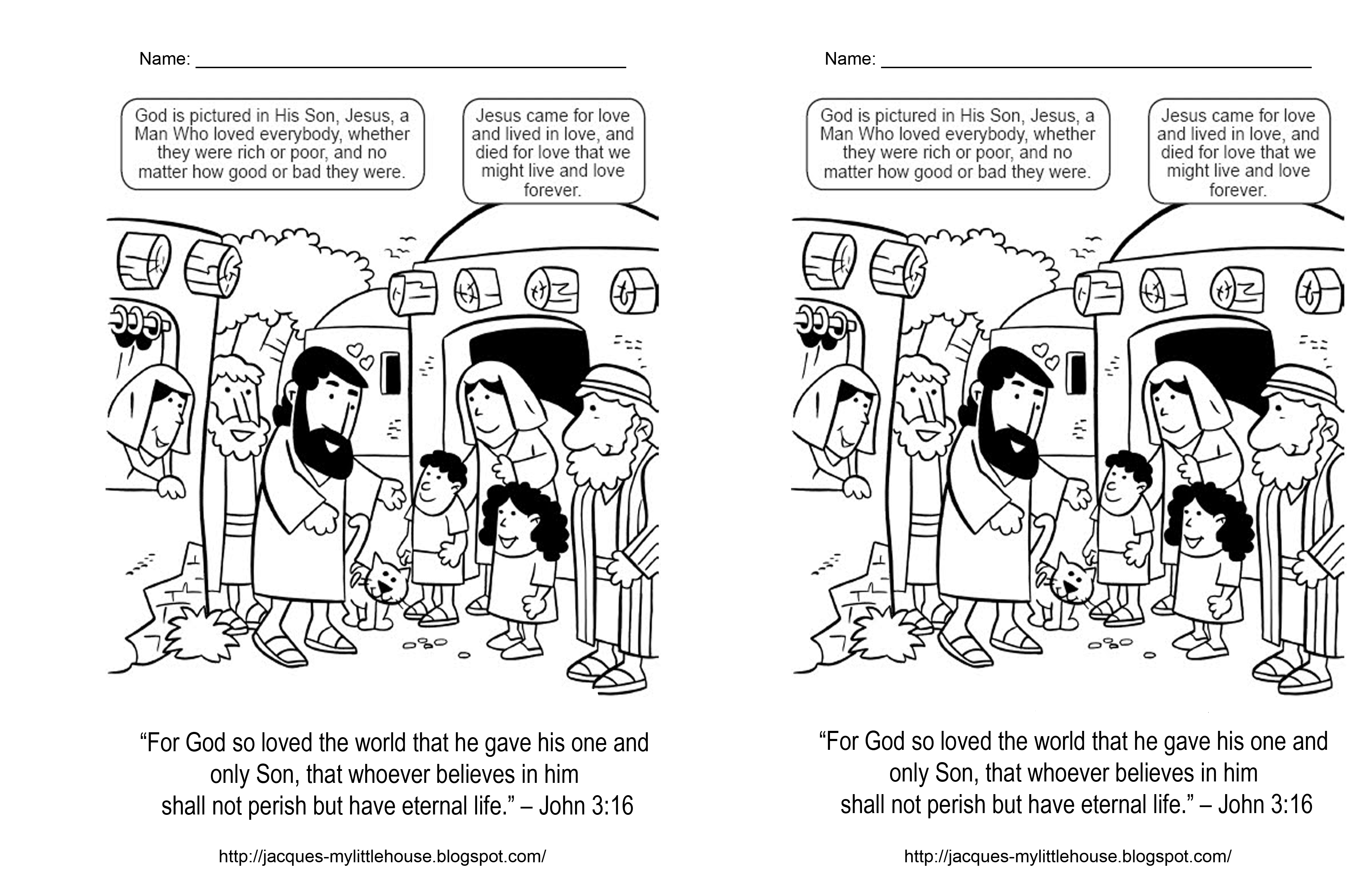 Luxury Jesus Is The Light Of The World Coloring Page