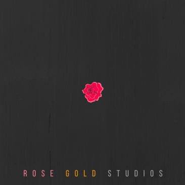 Rose Gold Studios Logo Design Branding Concept