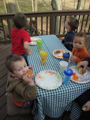 Garrett, Toby, Silas & Jayden