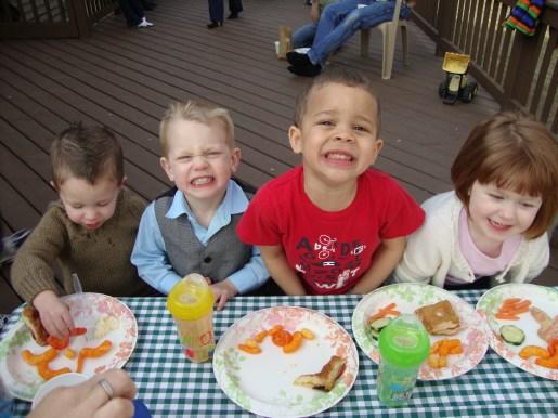 Garrett, Elijah, Toby & Norah
