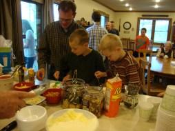 Nathan, Silas and Elijah