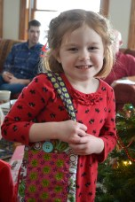 Norah's new purse made by Wawa H