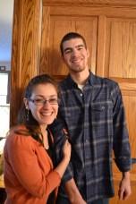 Erica and John