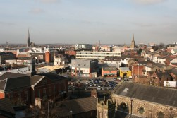 More of the churchs of preston and more of the colourful university buildings.