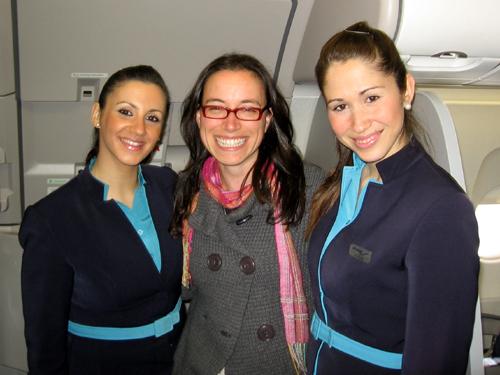 jeanine, flight attendants