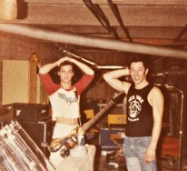 Van Halen in Roth's basement, 1970s