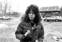 Eddie Van Halen in Michigan, 1980.
