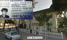 Chuck Manson's old place in Santa Barbara. 1967.