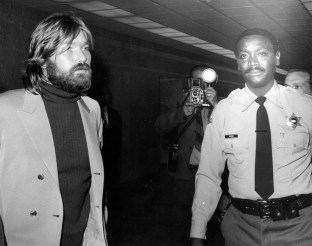 Terry Melcher arrives at court, 1971.