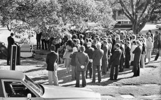 Natalie Wood's funeral service.