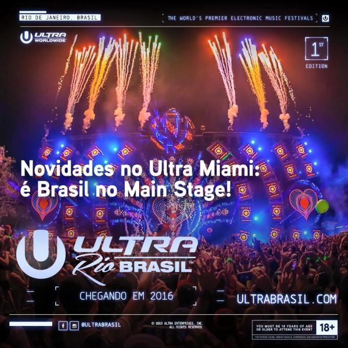 UMF Miami anuncia dois brasileiros em seu Main Stage
