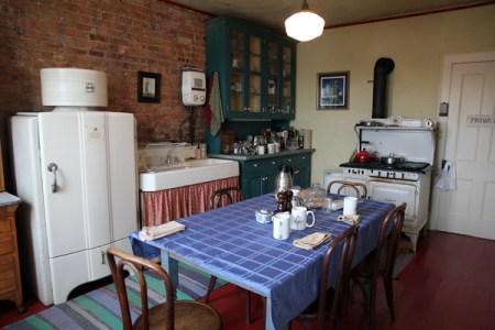 Saugerties Lighthouse kitchen