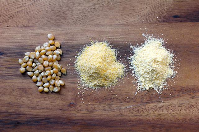 DIY cornmeal