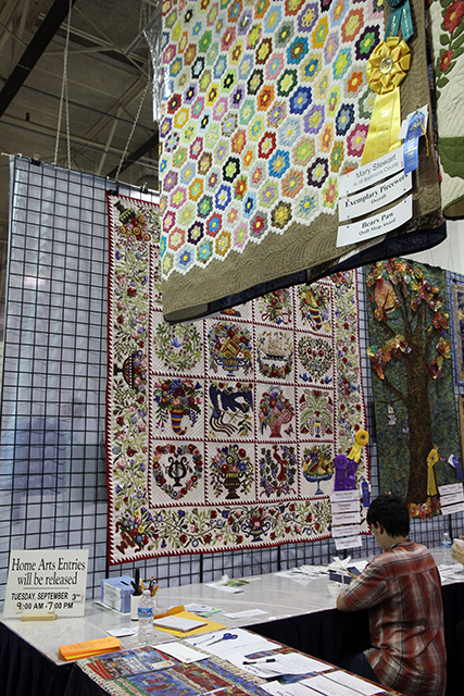 Killer quilts at the Maryland State Fair 2013