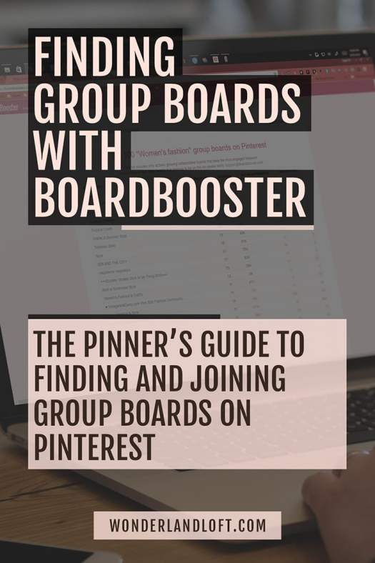 Find #Pinterest Group Boards in #BoardBooster
