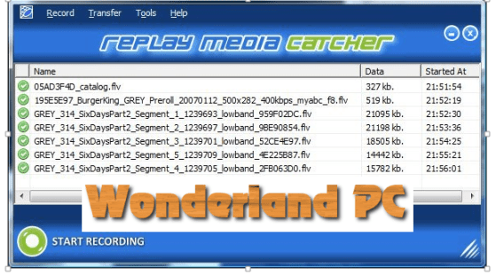 Replay Media Catcher 7.0.1.40 Free Download