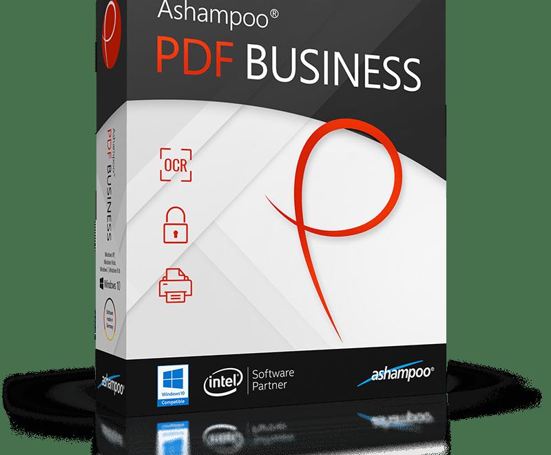 Ashampoo PDF Business 2.1.0 Crack & Serial Key