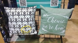 Sherlock and Star Wars pillows by Craft Encounters