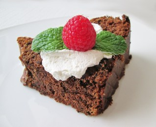 I love the effect the toppings have on the flavor of the cake. Since pound cake is so dense, it's nice to have something to lighten and brighten the flavors.