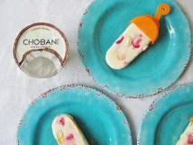 Healthy Chobani Yogurt Pops