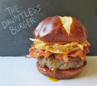 The Dauntless Burger from Divergent