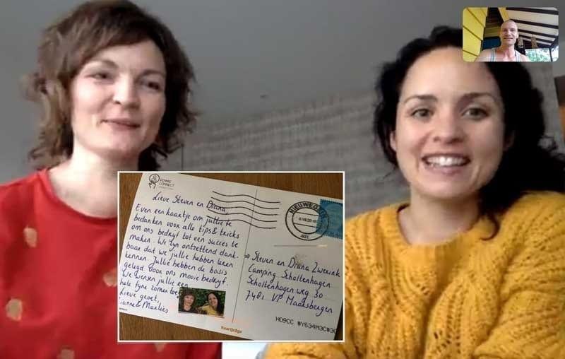 Ondernemer Worden via Wonderlijk Werken | Marlies en Rianne van KennisConnect
