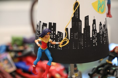 DIY Toddler Superhero Lamp Mommy Hack
