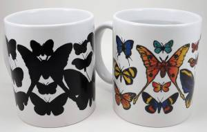 Butterflies color changing mug