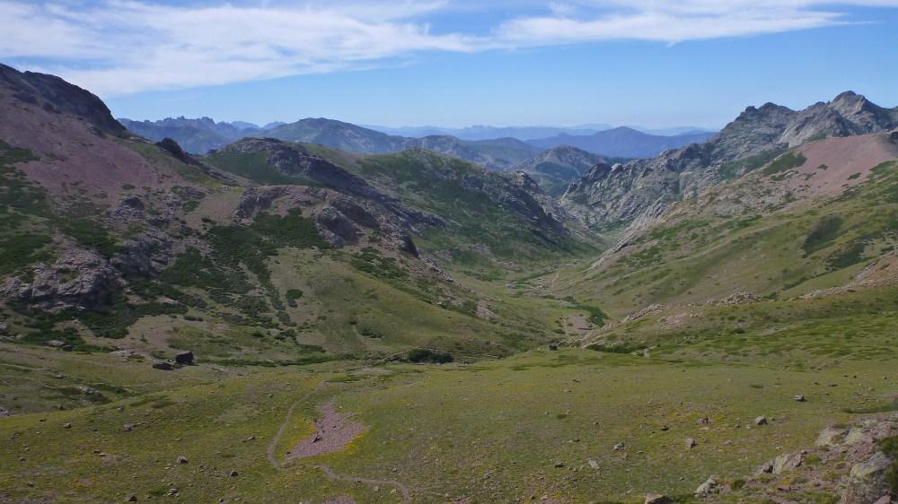 Vallée après Bocca Foggiale