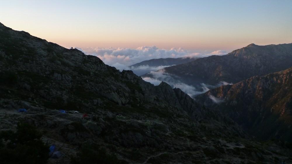 La mer de nuages au petit matin