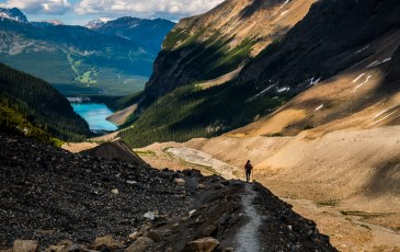 Plain of Six Glaciers & Lake Louise