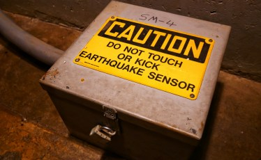 Earthquake Sensor