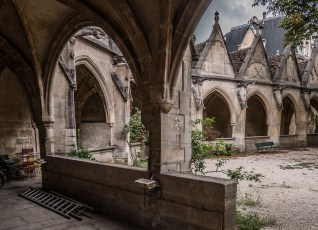 Saint-Severin Church Cloister