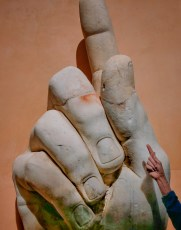 Hand from a Colossal Statue of Constantine